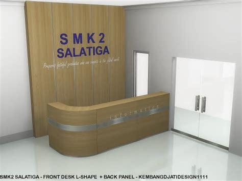 gambar desain front office kegiatan produksi furniture semarang