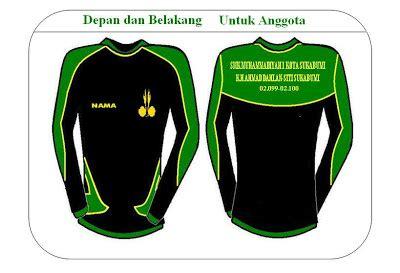 desain baju pramuka scout smk muhammadiyah 1 sukabumi desain pakaian dinas