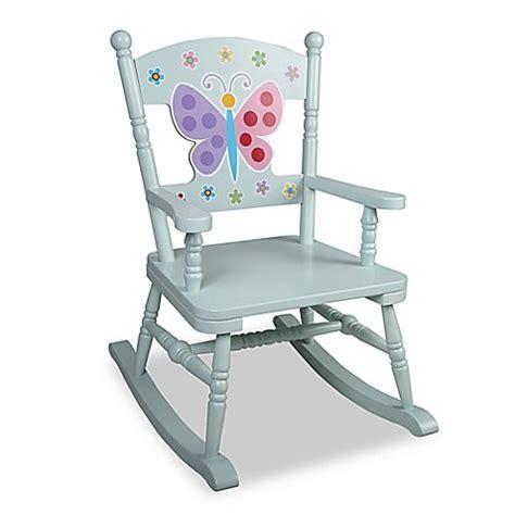 butterfly rocker chair buy olive butterfly garden rocking chair in blue