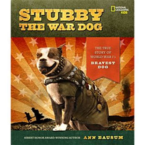 war dogs book stubby the war national geographic store