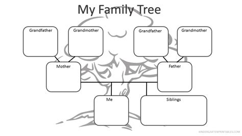 kindergarten family worksheets english worksheets the
