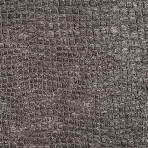 dark grey upholstery fabric dark grey alligator print shiny woven velvet upholstery