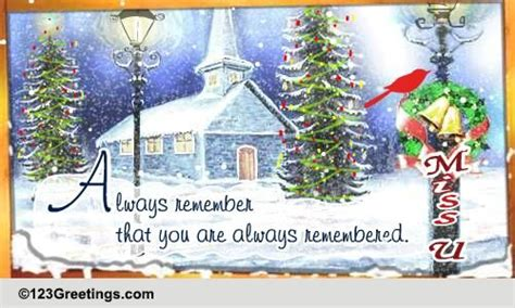 remembered    ecards greeting cards