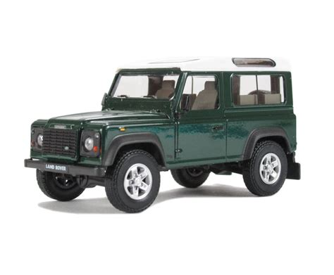range rover dark green hattons co uk cararama defdg90 land rover defender 90