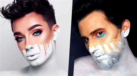 james charles palette trailer i tried following a james charles makeup tutorial best