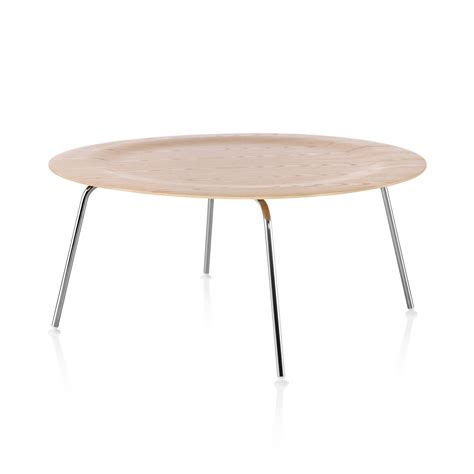 Eames Molded Plywood Coffee Table Metal Base By Charles Eames Coffee Tables