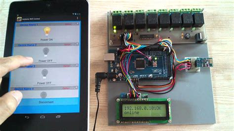 tutorial arduino android wifi android arduino wifi control devices with esp8266 and
