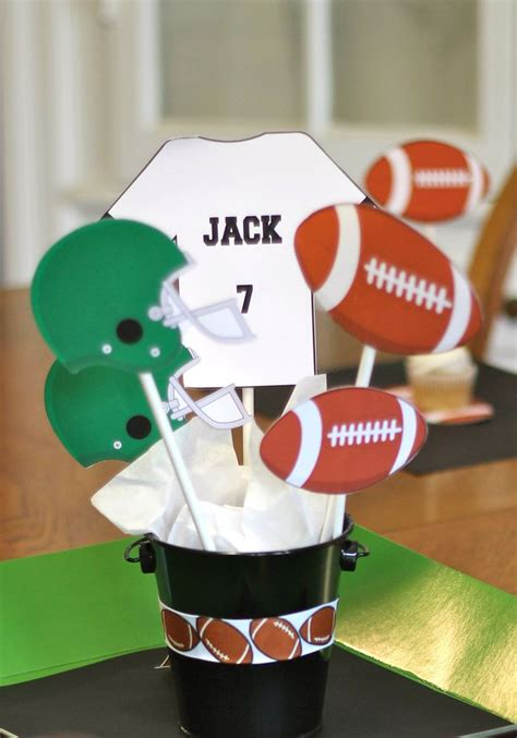 football banquet centerpieces football centerpiece football centerpieces