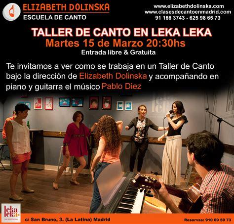 paritaria en mza 10 de marzo 2016 nuevo taller de canto 15 de marzo elizabeth dolinska