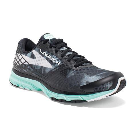 launch running shoe launch 3 womens running shoes black white green