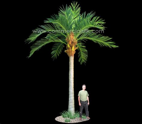 outdoor palm tree l post artificial palm trees outdoor mega insertion