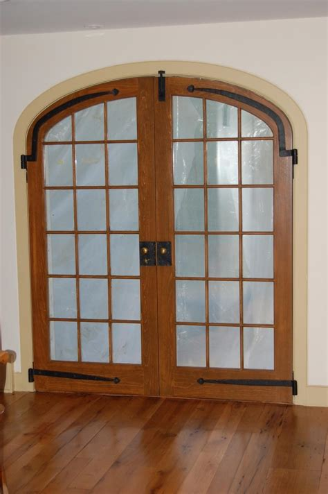 custom built wood exterior doors entryway arch top exterior door photos