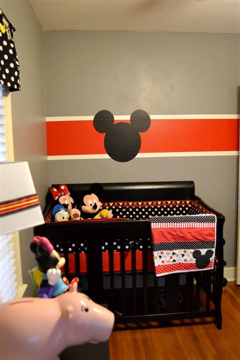 Mickey Mouse Nursery Decor Best 25 Mickey Mouse Nursery Ideas On Pinterest Mickey Mouse Room Mickey Mouse Bedroom And