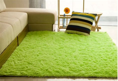 fsh shaggy anti skid carpets rugs floor mat cover 80 120cm