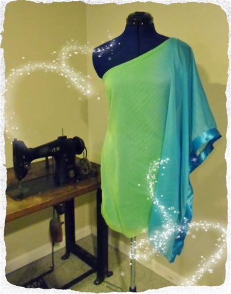 how to sew a draped dress one shoulder draped chiffon goddess dress sewing