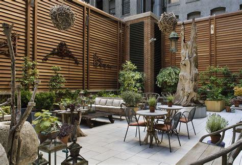 The Backyard W Hotel Crosby Hotel New York