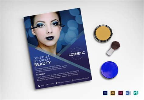 25 Cosmetic Flyer Templates Psd Vector Eps Jpg Download Freecreatives Free Skin Care Brochure Templates