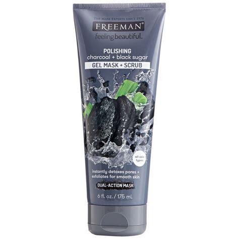 Freeman Mudmask freeman feeling beautiful polishing charcoal black sugar mud mask