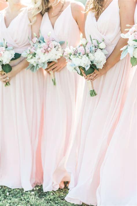 best 25 blush bridesmaid dresses ideas on pinterest