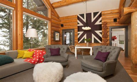 log cabin interior paint ideas modern log cabin interior