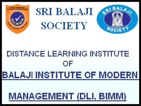 Distance Learning Mba Courses In Pune by Distance Education Mba Admissions In Bimm Pune Careerindia