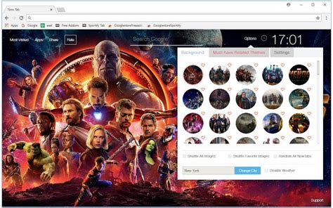 gmail themes avengers avengers infinity war wallpapers hd new tab chrome web store