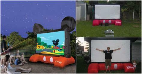 inflatable backyard movie screen fun inflatable movie screen for your backyard how to