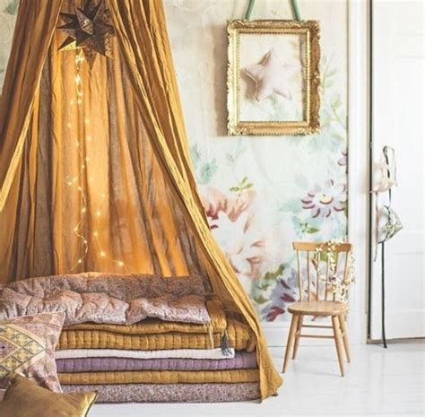 gold canopy bed a dream for the room med art home