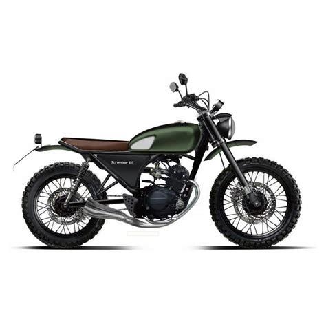 Motorrad 125 Ccm Retro by Scrambler 125cc Un Mod 232 Le R 233 Tro Avec De Bonnes Performances