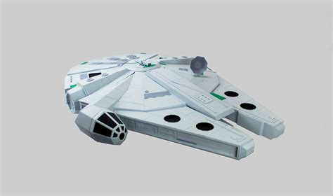 Millenium Falcon Papercraft - the paper strikes back paper craft millennium falcon by