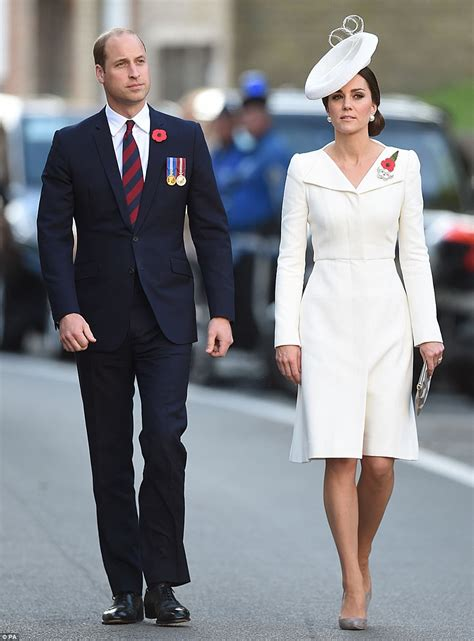 william and kate william and kate mark battle of passchendaele daily mail