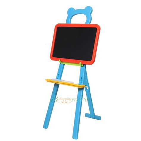 magnetic easel for toddlers 3 in 1 kids chalkboard white board double side art easel