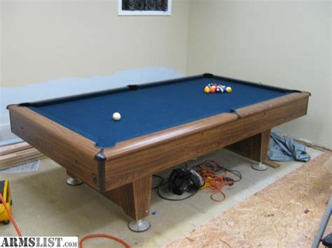 armslist for sale trade kasson slate pool table