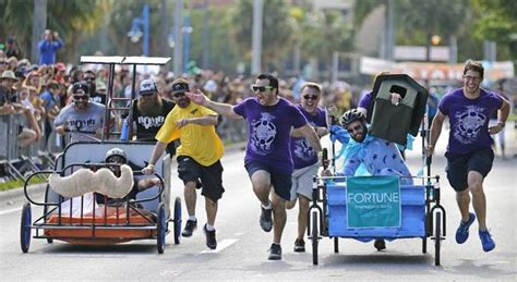 bed race photo gallery the 6th annual coconut grove bed races