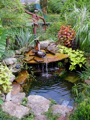 easy backyard water features easy water gardens