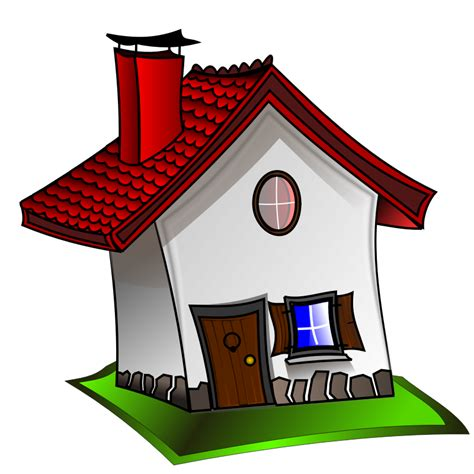 cartoon picture  house   clip art