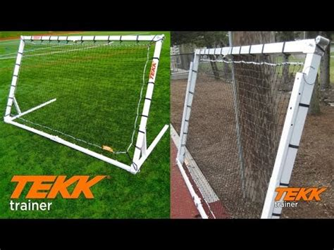 diy lacrosse goal tekk trainer rebounder goal for soccer basketball