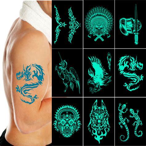 glow in the dark flash tattoo glow dark tattoos reviews online shopping glow dark