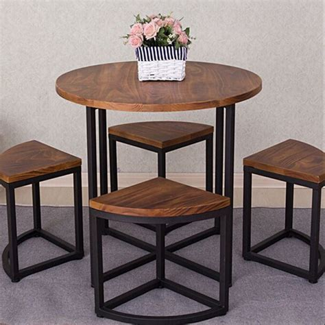Wrought Iron Dining Table And Chairs American Wood Furniture Combination To Do The Wrought Iron Circular Dining Table Custom