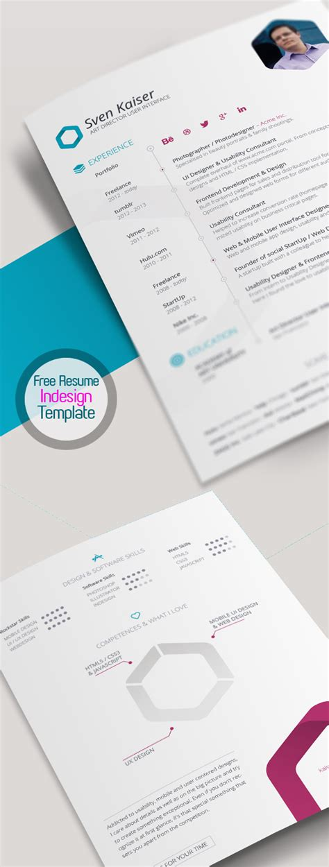 free graphic design resume template psd free modern resume templates psd mockups freebies