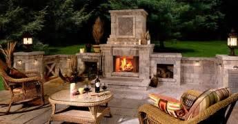 prefab outdoor fireplace home design ideas