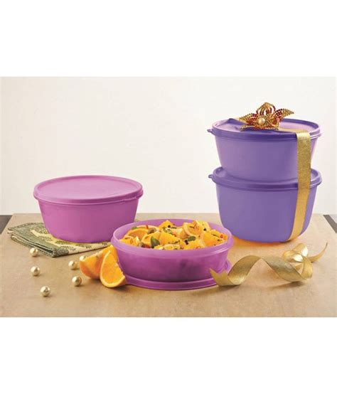 Tupperware Multi Bowl Set tupperware ss bowl set set of 4 buy at best price