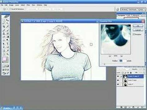 tutorial line art photoshop indonesia photoshop tutorials photo to line drawing youtube