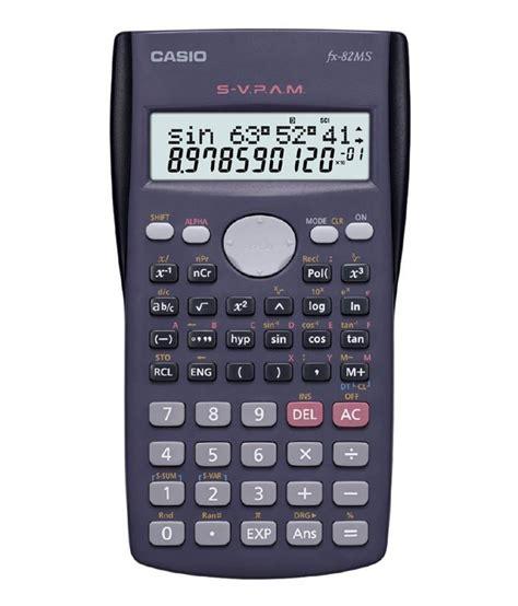 calculator online scientific casio fx 82ms 2 line display scientific calculator buy
