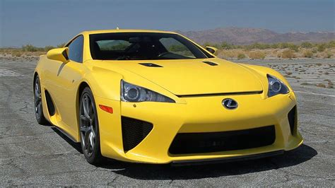 lexus lfa wallpaper yellow launching the lexus lfa outtakes ignition