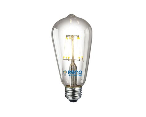 led lighting bulb led edison bulb 6w reno led lighting