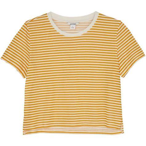 Stripes Shirt B L F yellow and white shirt artee shirt