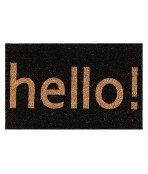 Hello Welcome Mat by Hello Welcome Mat Around The House