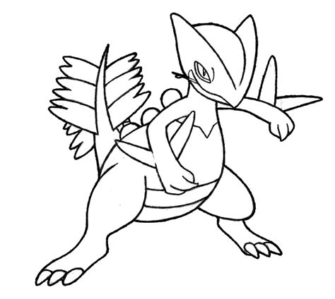 pokemon coloring pages grovyle pokemon sceptile images pokemon images