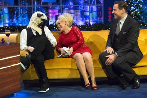 jonathan ross pug ed sheeran dressed up as a pug and it s just so right